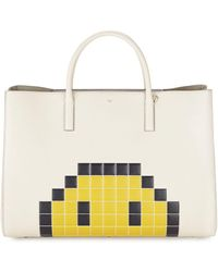 Anya Hindmarch - Ebury Maxi Pixel Leather Tote - Lyst