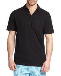 Saks Fifth Avenue - Collection Slub Polo - Lyst