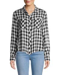 C&C California - Plaid Woven Button-down Shirt - Lyst
