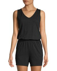 Saks Fifth Avenue - V-neck Romper - Lyst