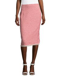 Rebecca Taylor | Summer Tweed Pencil Skirt | Lyst