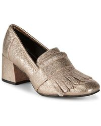 Kenneth Cole - Mariel Leather Loafers - Lyst