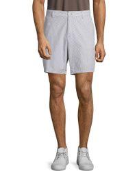 Saks Fifth Avenue - Seersucker Smoked Cotton Shorts - Lyst