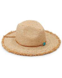 San Diego Hat Company - Straw Fedora - Lyst