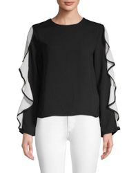 Endless Rose - Cascading Ruffle Top - Lyst