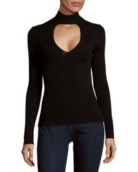 360cashmere - Keyhole Front Jumper - Lyst