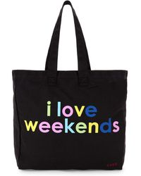 Peace Love World - I Love Weekends Tote - Lyst