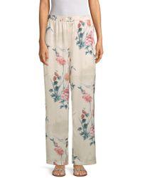 Lea & Viola - Floral-print Trousers - Lyst