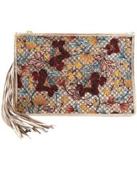 Sam Edelman - Alia Embroidered Clutch - Lyst