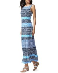 d34b1849af0 Tommy Bahama Mayan Maze Halter Dress in Blue - Save 9% - Lyst