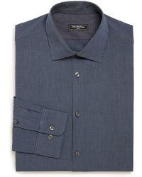 Saks Fifth Avenue - Modern Regular-fit Cotton Dress Shirt - Lyst