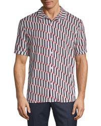 ELEVEN PARIS - Printed Short Sleeve Shirt - Lyst