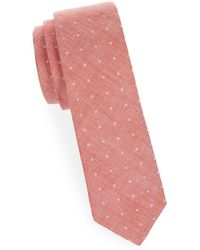 Joe's Collection - Printed Slim Cotton Tie - Lyst