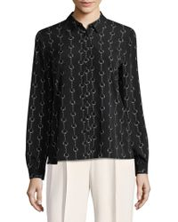 Premise Studio - Chain Printed Collared Shirt - Lyst