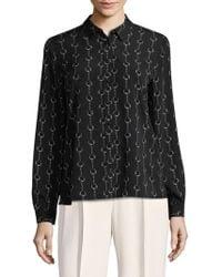Premise Studio | Chain Printed Collared Shirt | Lyst