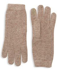 Portolano - Chenille Tech Gloves - Lyst