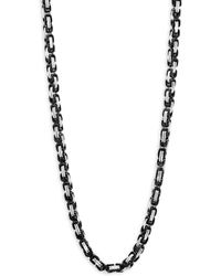 Perepaix - Two-tone Chain Necklace - Lyst