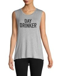 PPLA - Day Drinker Graphic Tee - Lyst