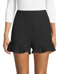 BCBGMAXAZRIA - High-rise Shorts - Lyst