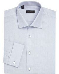 Saks Fifth Avenue - Woven Button-down Dress Shirt - Lyst
