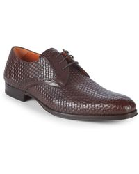 Mezlan - Textured Leather Loafers - Lyst