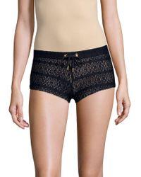 Melissa Odabash - Crochet Lace Shorts - Lyst