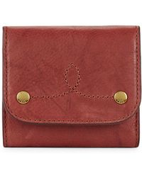 Frye - Campus Rivet Medium Wallet - Lyst