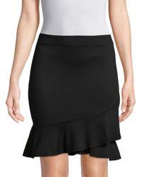 Max Studio - Ruffle-trim Mini Skirt - Lyst