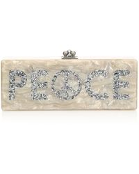 Edie Parker - Flavia Peace Acrylic Clutch - Lyst
