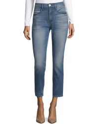 3x1 - Straight-fit Vedder Shelter Cropped Jeans - Lyst