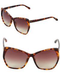 Linda Farrow - 61mm Oversized Sunglasses - Lyst