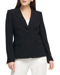 Donna Karan - Two-button Short Jacket - Lyst