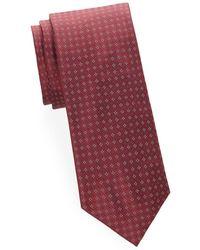 Brioni - Dotted Silk Tie - Lyst