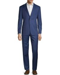 Hickey Freeman - Classic Fit Wool Suit - Lyst