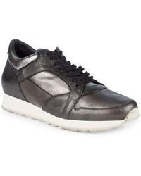 John Varvatos - 315 Trainer Leather Low-top Sneakers - Lyst