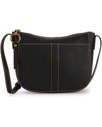 Frye - Ilana Leather Zip Crossbody Bag - Lyst