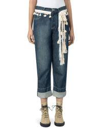 Loewe - Rope Denim Jeans - Lyst
