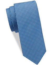 Eton of Sweden - Geometric Silk Tie - Lyst
