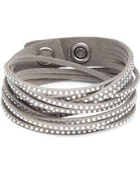 Swarovski - Slake Crystal Studded Bracelet - Lyst
