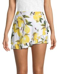 Lucca Couture - Ana Faux Wrap Skort - Lyst