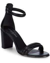 Kenneth Cole - Lucie Leather Ankle-strap Sandals - Lyst