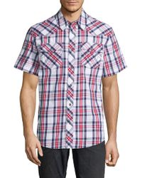 True Religion - Western Check Shirt - Lyst
