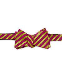 Ike Behar - Party Stripe Silk & Cotton Bow Tie - Lyst