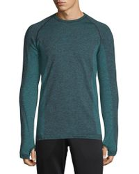 HPE - Cross X Seamless Raglan-sleeve Top - Lyst