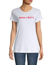 Threads For Thought - Mon Cheri Cotton Tee - Lyst