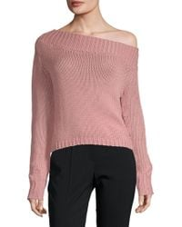 Lovers + Friends - Sandy Beach Crop Jumper - Lyst