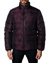Jared Lang - Men's Geneva 2b Heavy Camo Quilted Puffer Jacket - Lyst