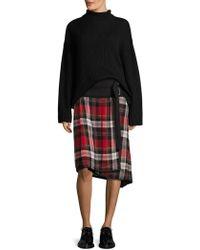 Public School - Ilha Plaid Wrap Skirt - Lyst