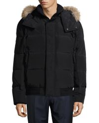 Marc New York - Quilted Fur Bomber - Lyst