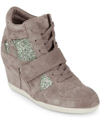 Ash - Bowie Wedge Trainers - Lyst